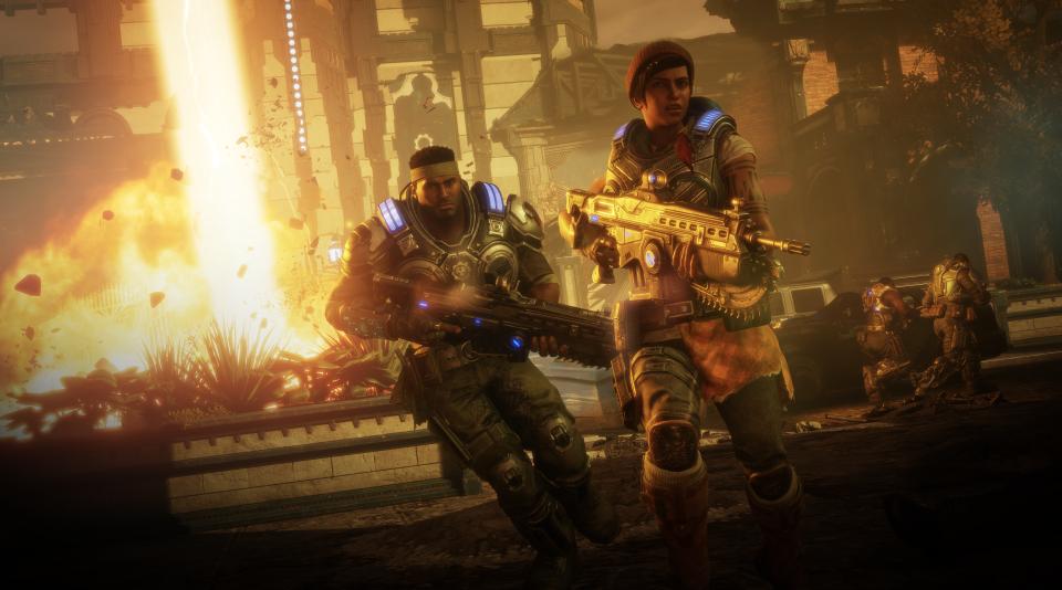 Bánh răng chiến tranh 5: Hình ảnh tuyệt vời, chơi trò chơi thú vị và một câu chuyện thú vị 4