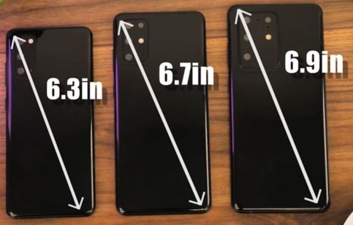 Samsung Galaxy Đơn vị giả bị rò rỉ S20 2