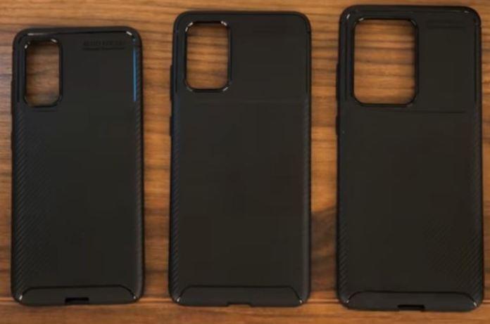 Samsung Galaxy Các trường hợp đơn vị giả bị rò rỉ S20