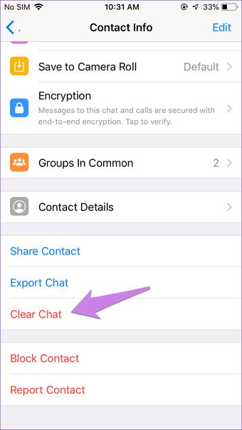 Tại sao tôi không thể xóa cho mọi người Whatsapp 8