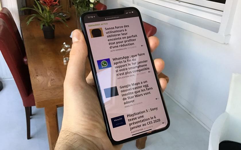 iPhone 11 Pro Max notch