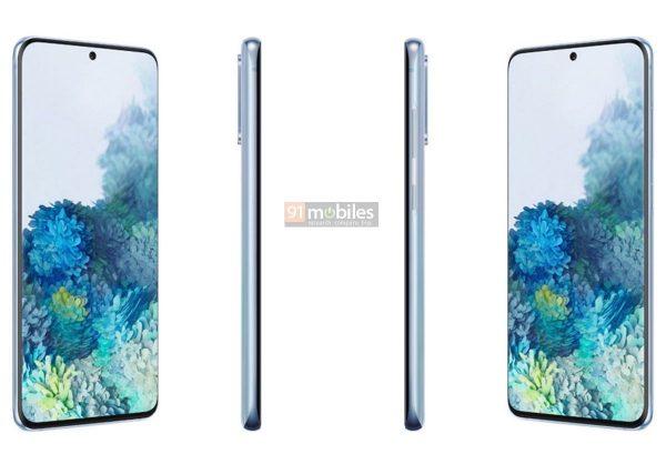 Samsung Galaxy S20 ám