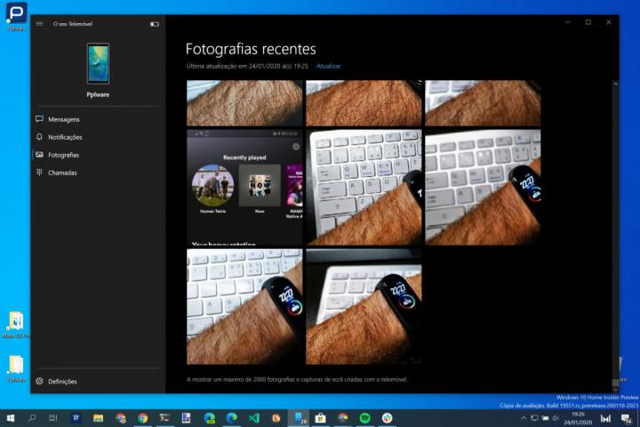 Android Windows 10 ảnh điện thoại di động của Microsoft