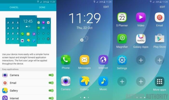 Chế độ dễ dàng của Android