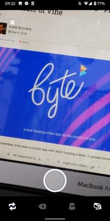Người kế nhiệm của Vine là Byte hiện đã có mặt trên Play Store 3