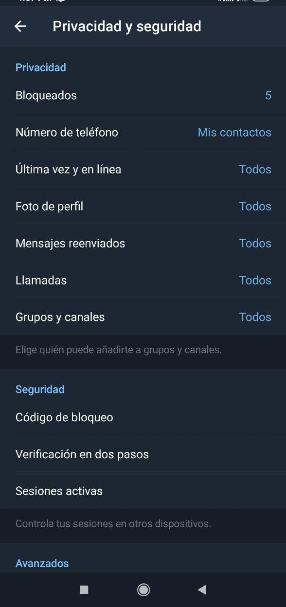 Khóa Telegram theo mật khẩu với các bước này 4