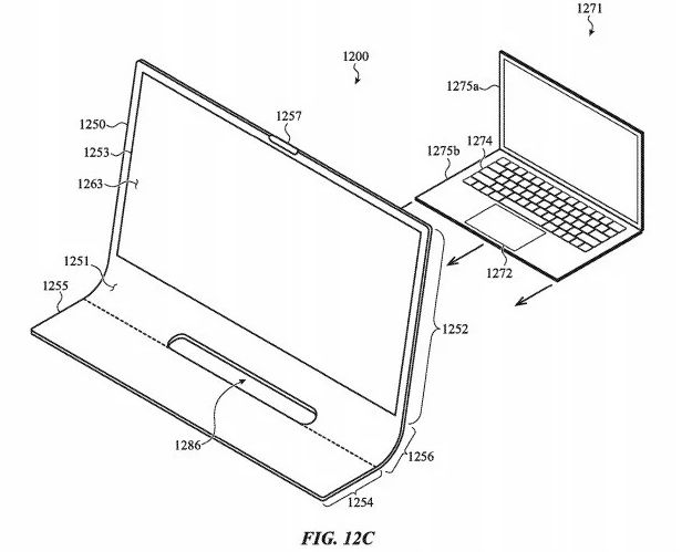 Apple Bằng sáng chế iMac được làm từ một mảnh thủy tinh 3