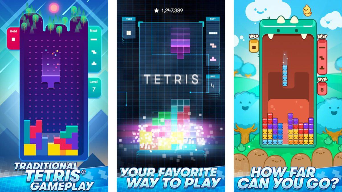 Ảnh chụp màn hình Tetris