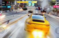 Đây là ảnh chụp màn hình của Asphalt 9, một trong những game arcade hay nhất dành cho Android