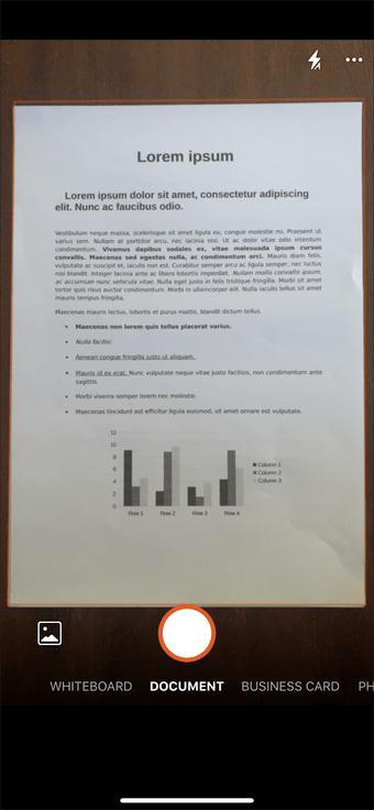 Ứng dụng quét tài liệu Iphone Ipad 15