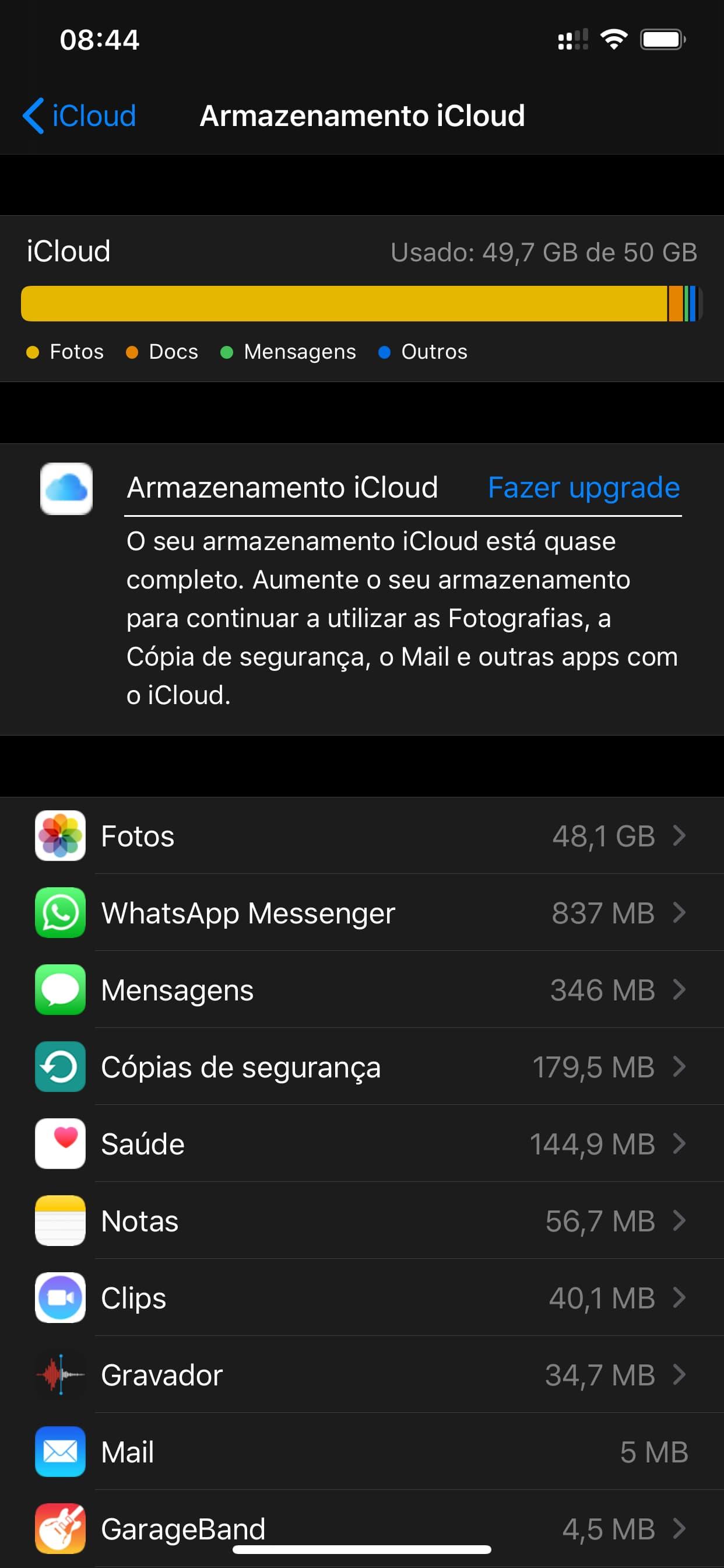iPhone sắp hết dung lượng? Xóa bản sao lưu 4