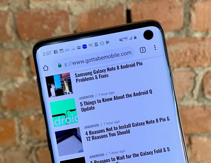 Samsung Galaxy Thông tin cập nhật Android 10 (2020) 8