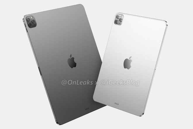 Chất lượng iPad Pro 2020 hiển thị cho thấy hệ thống camera ba giống như iPhone 11 Pro 2