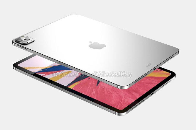 Chất lượng iPad Pro 2020 hiển thị cho thấy hệ thống camera ba giống như iPhone 11 Pro 3
