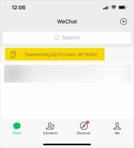 Truyền dữ liệu trong điện thoại mới