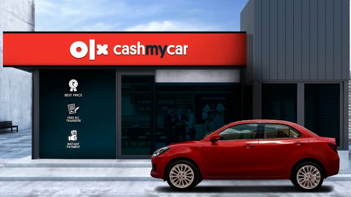 olx cashmycar là một ứng dụng tìm xe mới