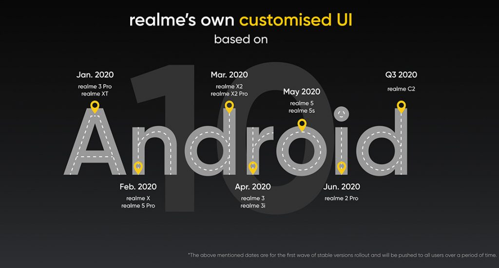 Realme Xt & Realme 3 Mở đăng ký Android 10 Pro