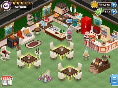 Descargar Bếp thế giới Cafeland v 2.1.21 Mod Mod 2