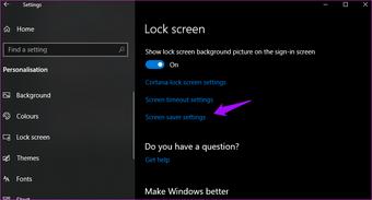 Giải quyết trình bảo vệ màn hình không hoạt động Windows 10 vấn đề 2