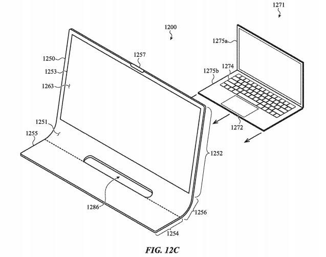 Bằng sáng chế thủy tinh iMac