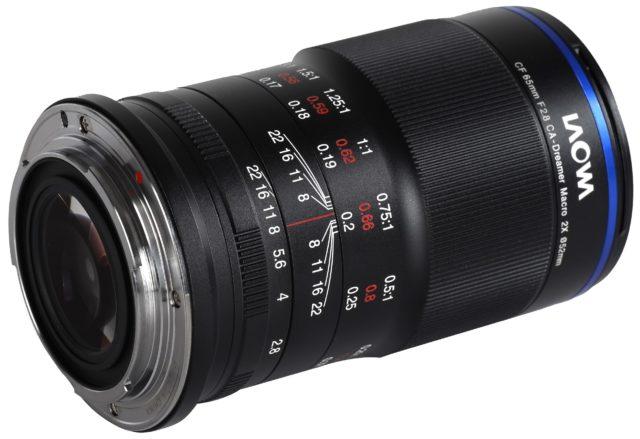 Laowa 65mm f /2.8 Ống kính APO 2X Macro cho APS-C được công bố 4