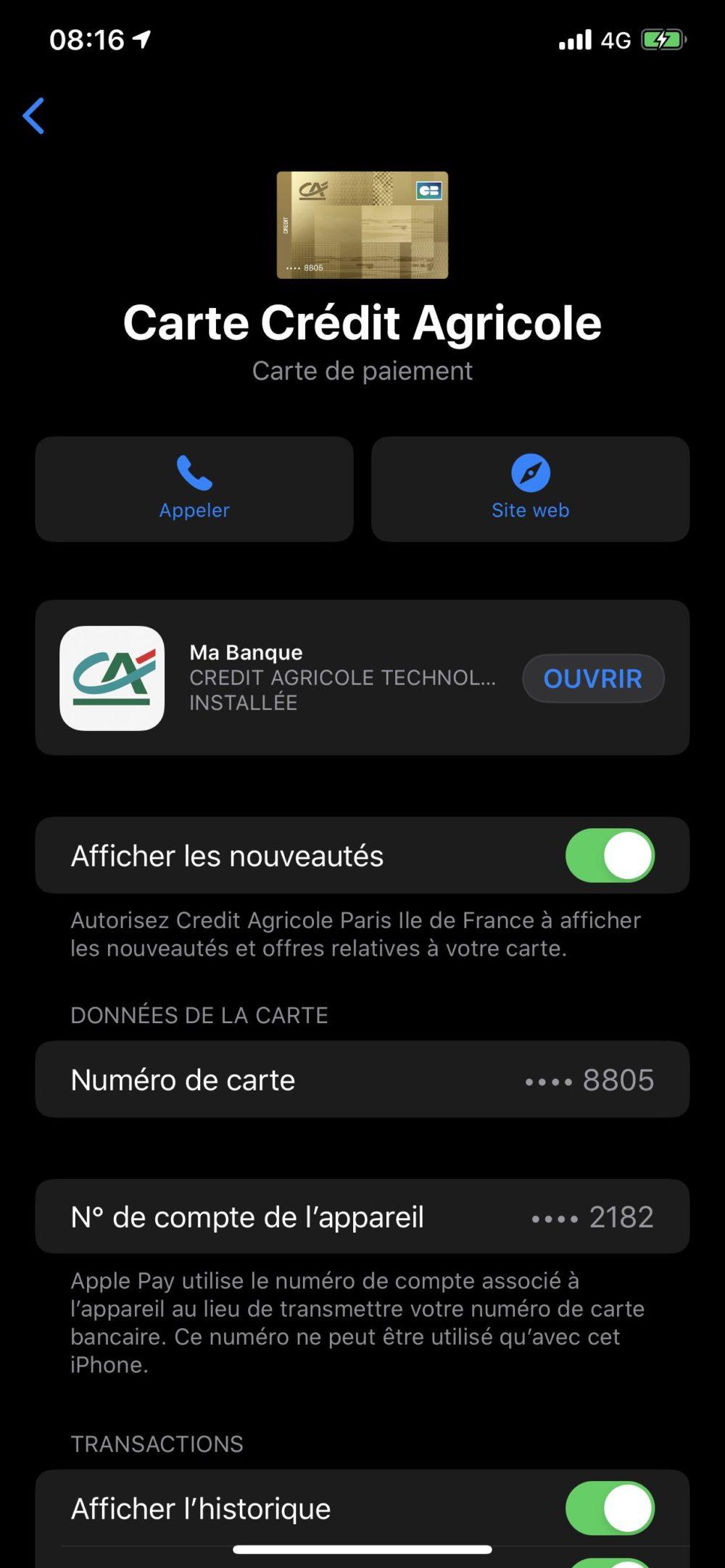 Apple Pay  Tín dụng Nông nghiệp Apple Pay : Dịch vụ thanh toán không tiếp xúc của Apple cuối cùng đã đến Crédit Agricole