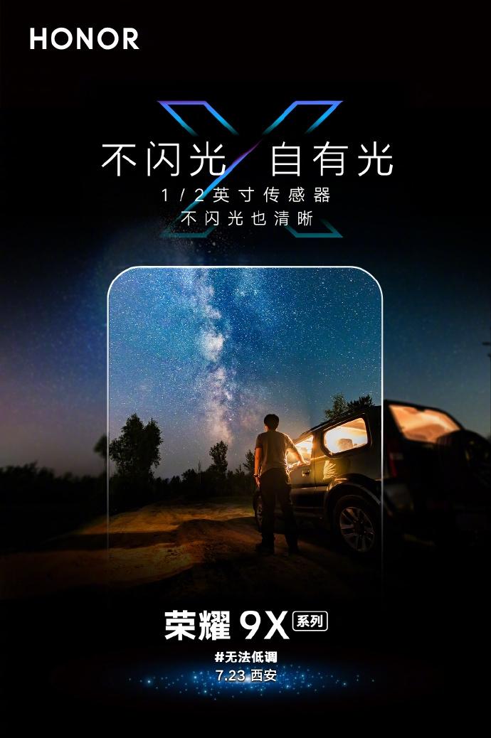 Chi tiết camera của Honor 9X