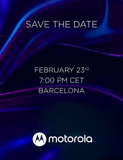 Motorola đã bắt đầu gửi lời mời cho buổi thuyết trình tại MWC 2020.