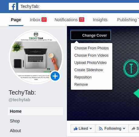 Cách thay đổi Facebook Ảnh bìa trang chỉ trong 2 Phút 2
