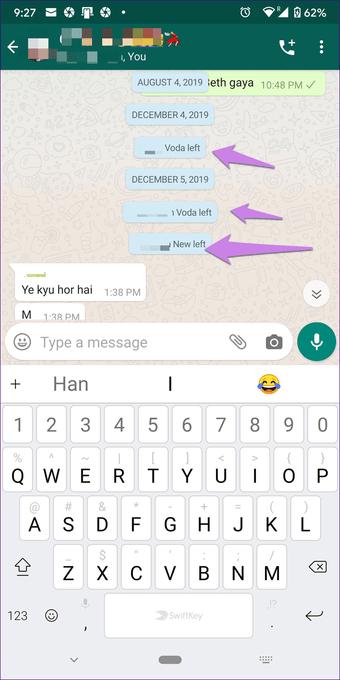 Điều gì xảy ra Xóa tài khoản Whatsapp 20