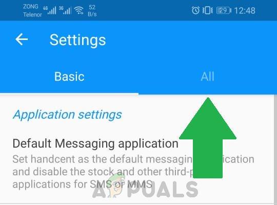 Làm cách nào để chặn văn bản trên Android? 12