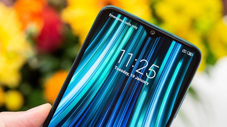 AndroidPIT Xiaomi redmi lưu ý 8 pro xanh not2