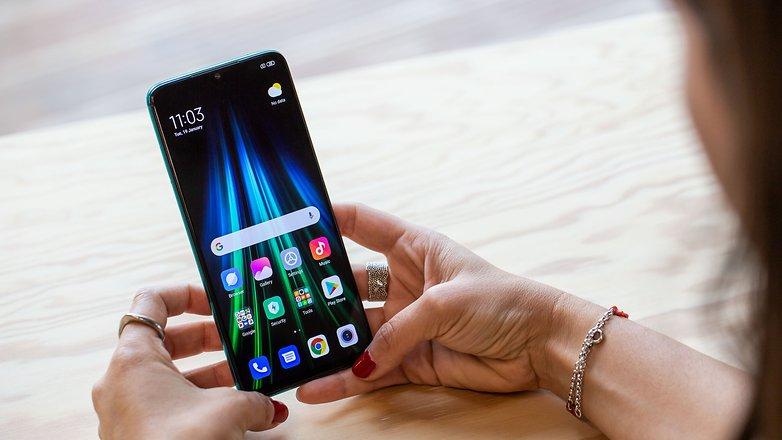 AndroidPIT Xiaomi redmi lưu ý 8 tay xanh