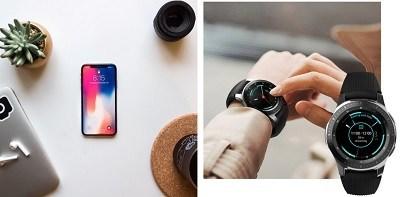 Galaxy  Xem làm việc với iPhone