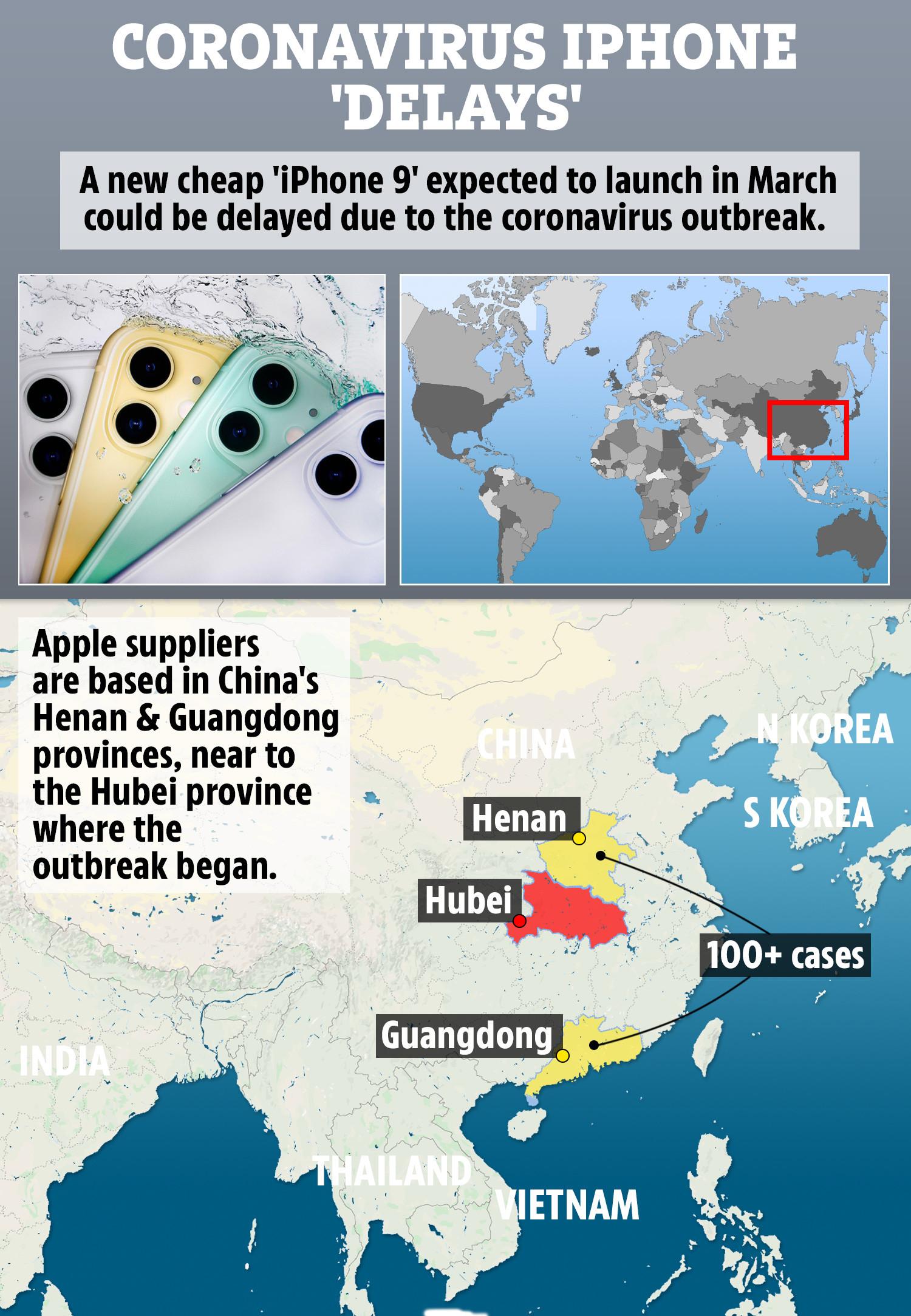 IPhone mới giá rẻ 9'có thể bị trì hoãn bởi cuộc khủng hoảng coronavirus, những người trong cuộc cảnh báo 1