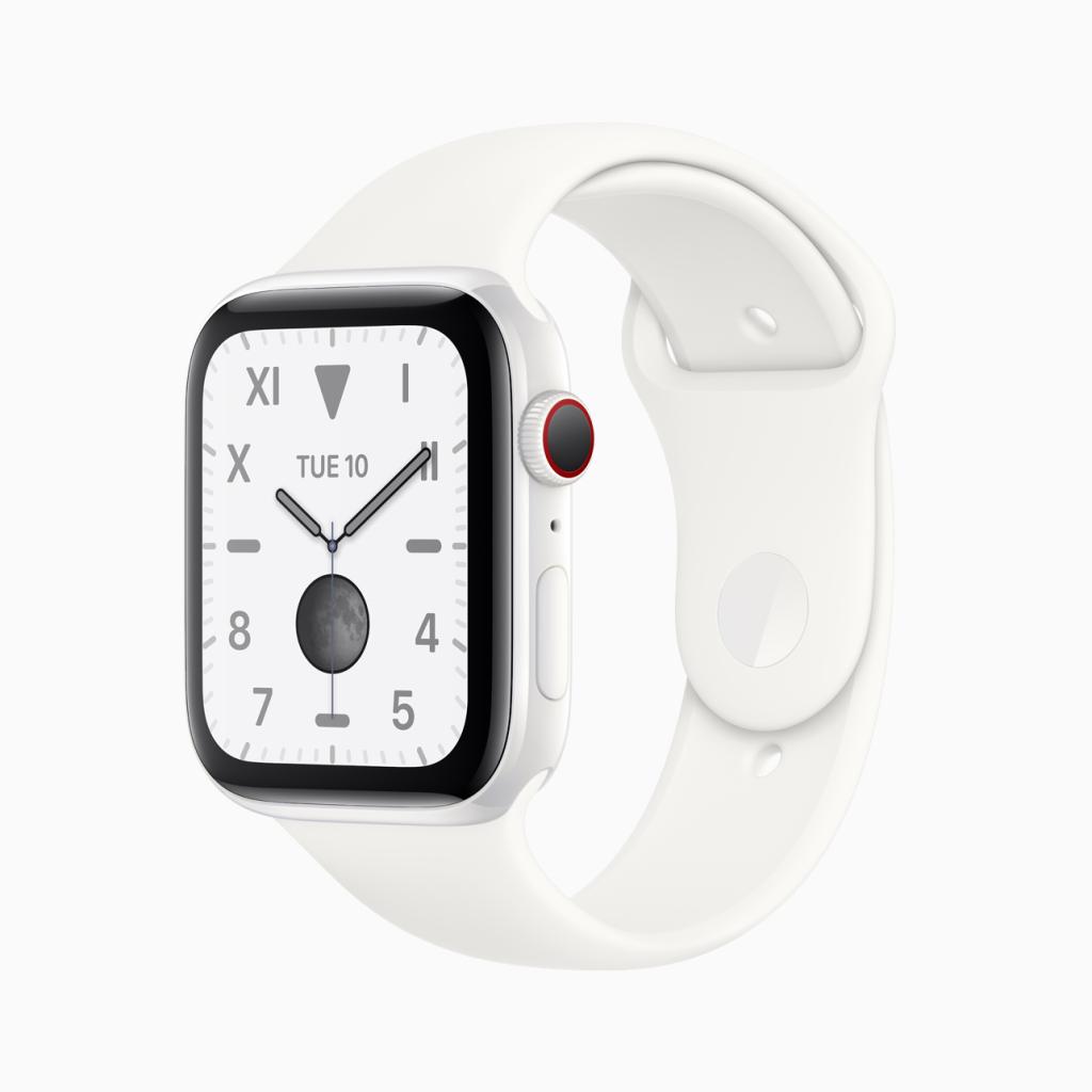 Apple Watch  Loạt 5 Phiên bản với hộp gốm trắng.