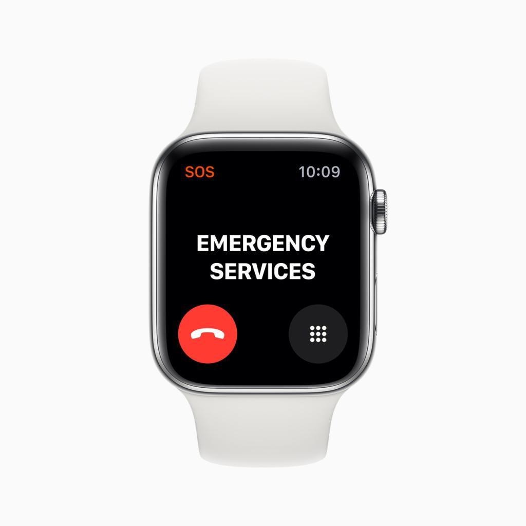 Dịch vụ khẩn cấp quốc tế dành cho tất cả mọi người Apple Đồng hồ có kết nối 4G.