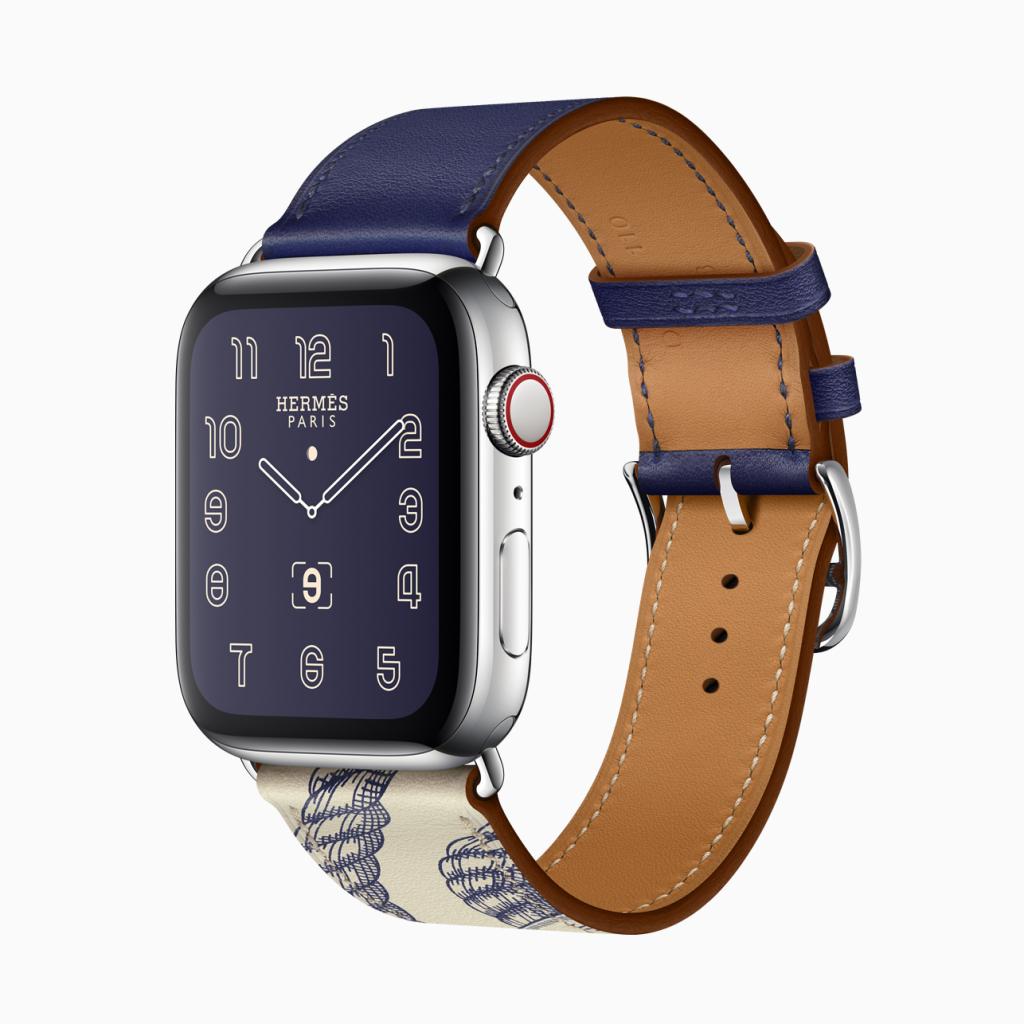 Đẹp và thân yêu: sự hợp tác của Apple với thương hiệu Hermès vẫn vững vàng với Series 5.