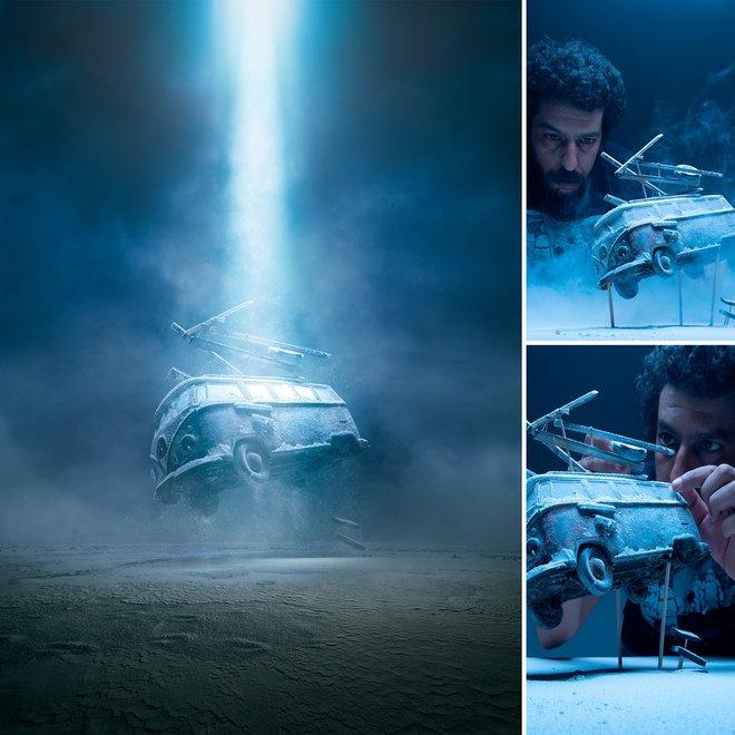 Nhiếp ảnh gia đáng kinh ngạc này tạo ra thế giới mới với nghệ thuật và thủ công 2