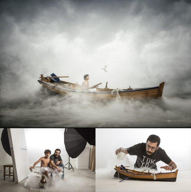 Nhiếp ảnh gia đáng kinh ngạc này tạo ra thế giới mới với nghệ thuật và thủ công 3