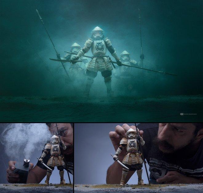 Nhiếp ảnh gia đáng kinh ngạc này tạo ra thế giới mới với nghệ thuật và thủ công 4