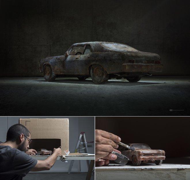 Nhiếp ảnh gia đáng kinh ngạc này tạo ra thế giới mới với nghệ thuật và thủ công 6