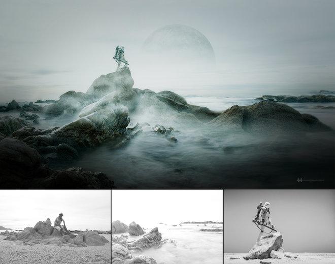 Nhiếp ảnh gia đáng kinh ngạc này tạo ra thế giới mới với nghệ thuật và thủ công 7