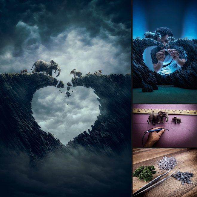 Nhiếp ảnh gia đáng kinh ngạc này tạo ra thế giới mới với nghệ thuật và thủ công 9