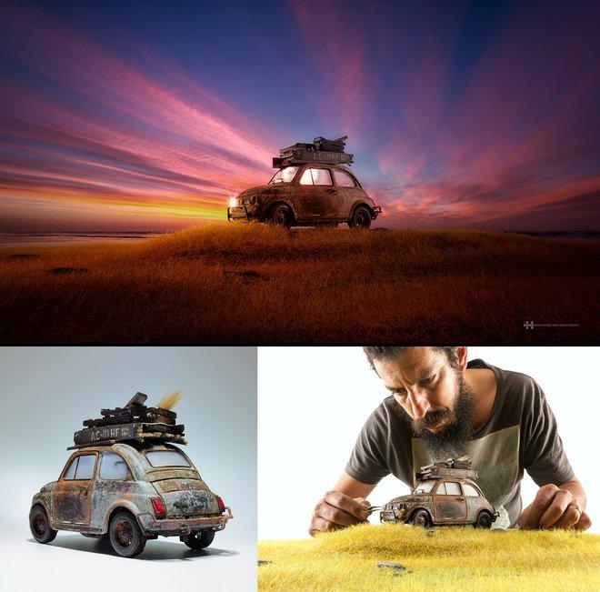 Nhiếp ảnh gia đáng kinh ngạc này tạo ra thế giới mới với nghệ thuật và thủ công 8