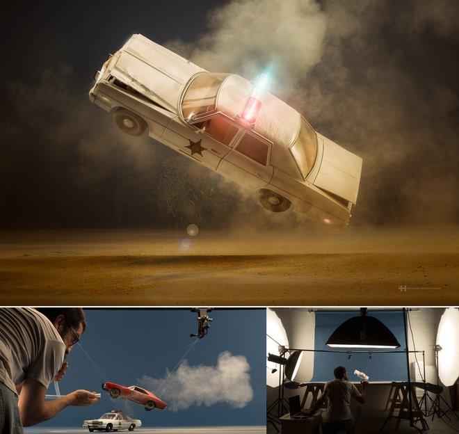 Nhiếp ảnh gia đáng kinh ngạc này tạo ra thế giới mới với nghệ thuật và thủ công 13