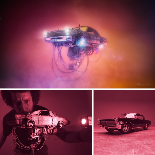 Nhiếp ảnh gia đáng kinh ngạc này tạo ra thế giới mới với nghệ thuật và thủ công 11