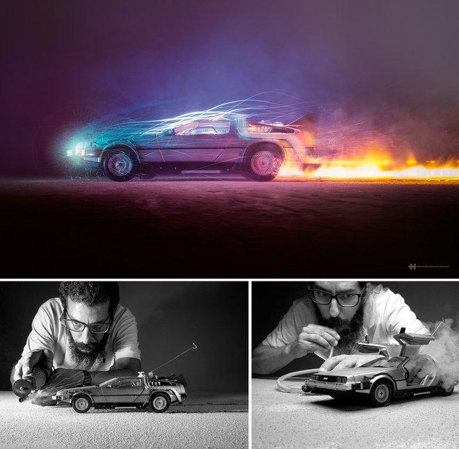 Nhiếp ảnh gia đáng kinh ngạc này tạo ra thế giới mới với nghệ thuật và thủ công 15