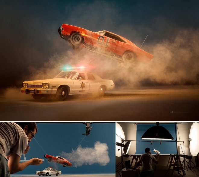 Nhiếp ảnh gia đáng kinh ngạc này tạo ra thế giới mới với nghệ thuật và thủ công 14