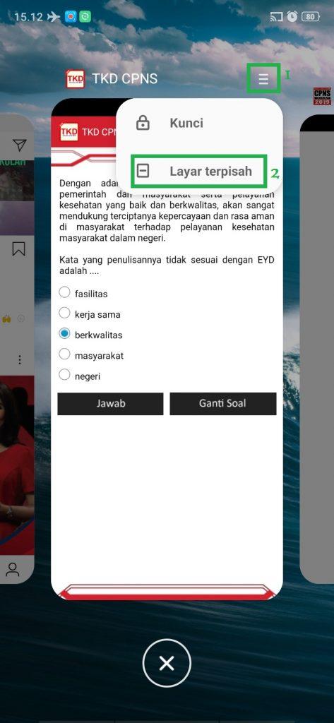 Cách kích hoạt tính năng chia màn hình trong HP Realme 7